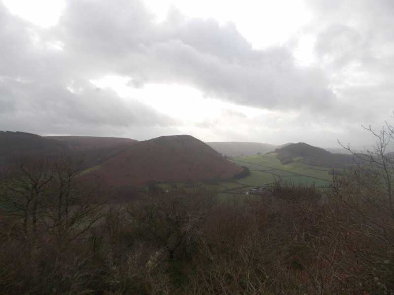 MountainViews.ie Picture about mountain Burfa Bank  in area Welshpool to Hay-on-Wye, Ireland