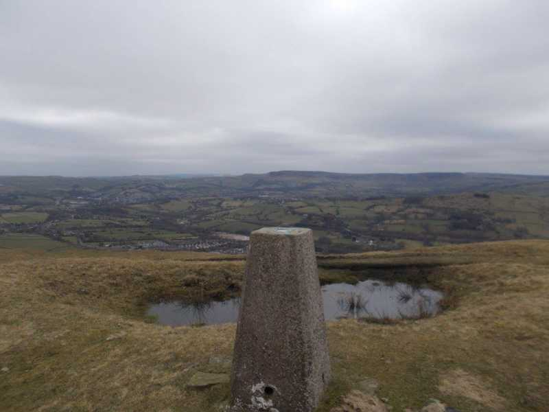 MountainViews.ie Picture about mountain Chinley Churn (old GR)  in area Lancashire, Cheshire & the Southern Pennines, Ireland