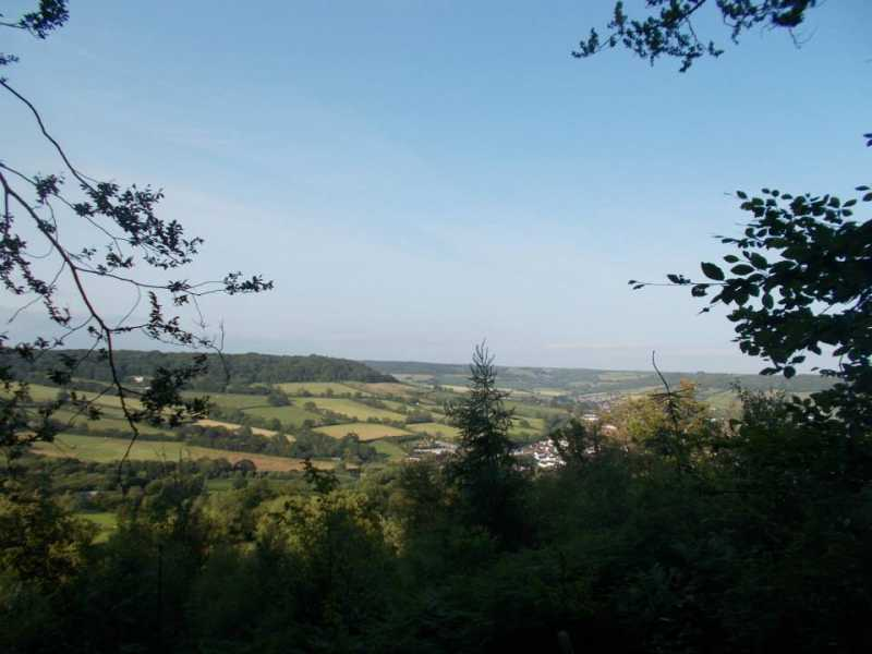 MountainViews.ie Picture about mountain Bulverton Hill in area Cornwall & Devon, Ireland