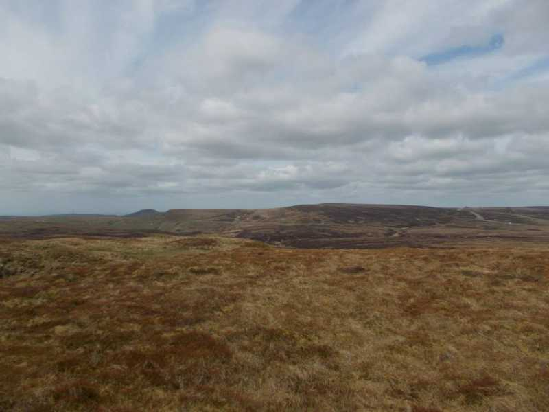 MountainViews.ie Picture about mountain Cheeks Hill  in area Lancashire, Cheshire & the Southern Pennines, Ireland
