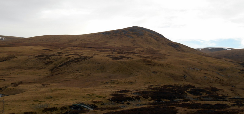 MountainViews.ie Picture about mountain Sron na Gaoithe in area Braemar to Montrose, Ireland