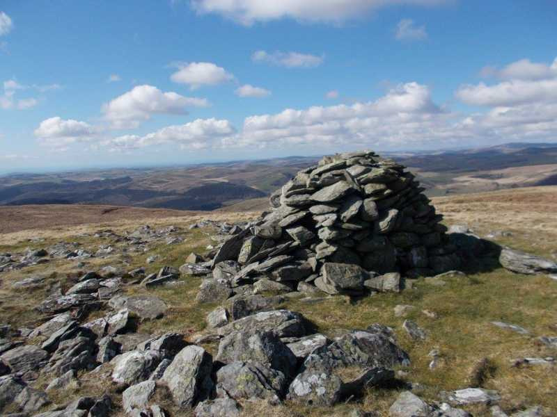 MountainViews.ie Picture about mountain Bryn Dafydd  in area South-West Wales, Ireland