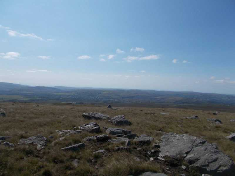 MountainViews.ie Picture about mountain Carn Fadog  in area Llandovery to Monmouth, Ireland