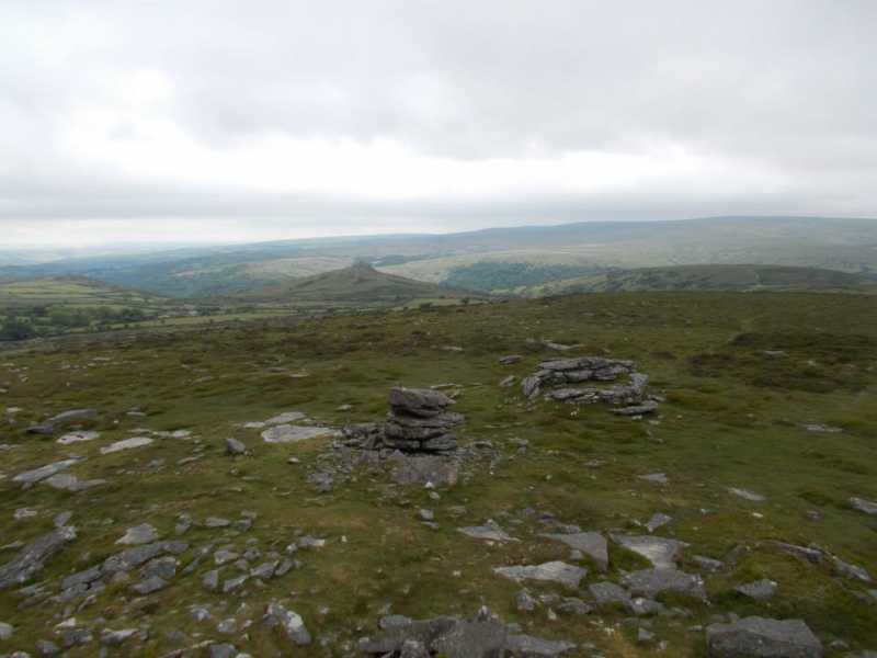 MountainViews.ie Picture about mountain Corndon Tor [Corndon Down]  in area Cornwall & Devon, Ireland