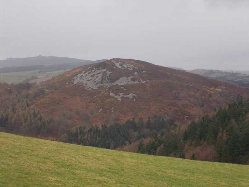 MountainViews.ie Picture about mountain Cefn Gunthly  in area Shropshire, Ireland