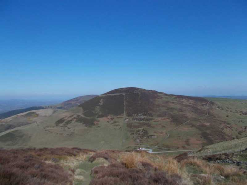 MountainViews.ie Picture about mountain Moel Arthur  in area Llandudno to Wrexham, Ireland