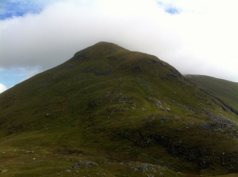 MountainViews.ie Picture about mountain An Stuc in area Glen Lyon to Glen Dochart and Loch Tay, Ireland