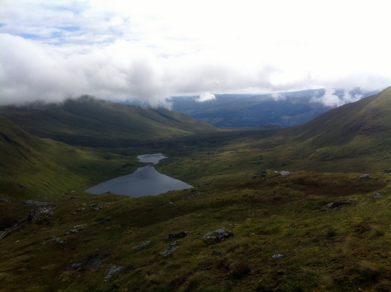 MountainViews.ie Picture about mountain Creag an Fhithich in area Glen Lyon to Glen Dochart and Loch Tay, Ireland