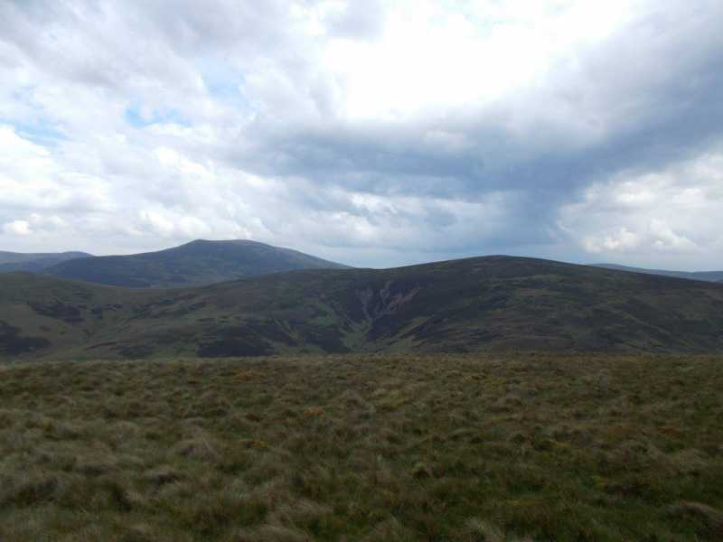 MountainViews.ie Picture about mountain Hudderstone  in area The River Tweed to the English Border, Ireland