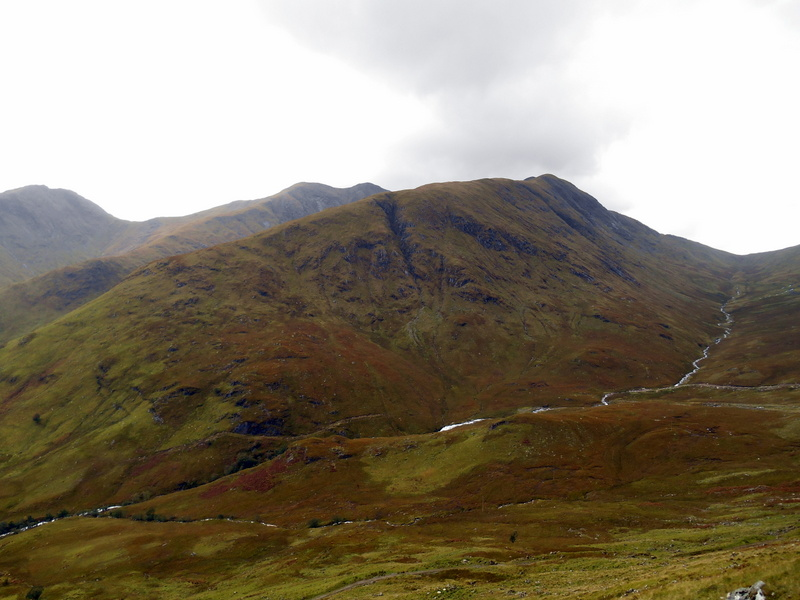 MountainViews.ie Picture about mountain Sron An Isean in area Glen Etive to Glen Lochy, Ireland
