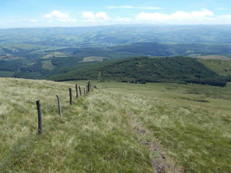 MountainViews.ie Picture about mountain Foel y Geifr  in area Dolgellau to Machynlleth, Ireland