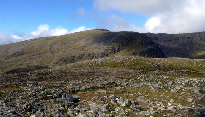MountainViews.ie Picture about mountain Ben Alder in area Loch Treig to Loch Ericht, Ireland