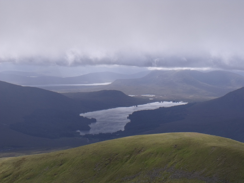MountainViews.ie Picture about mountain Beinn Eibhinn in area Loch Treig to Loch Ericht, Ireland