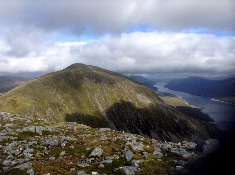 MountainViews.ie Picture about mountain Beinn Bheoil in area Loch Treig to Loch Ericht, Ireland