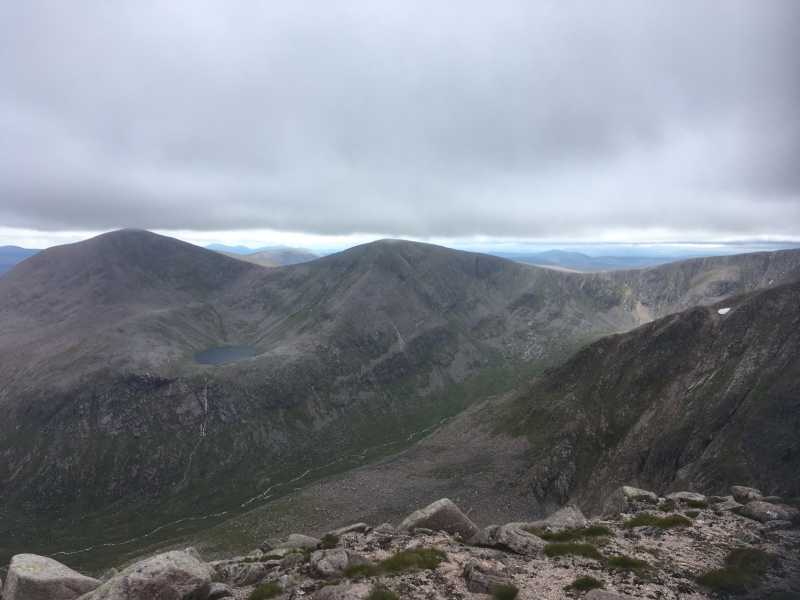 MountainViews.ie Picture about mountain Sgor an Lochain Uaine in area Cairngorms, Ireland