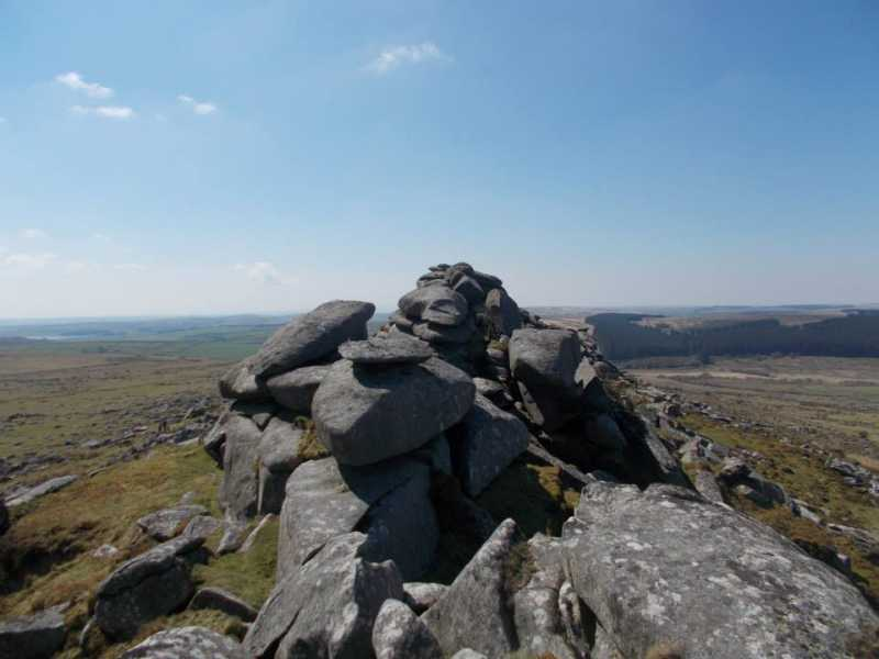 MountainViews.ie Picture about mountain Kilmar Tor in area Cornwall & Devon, Ireland