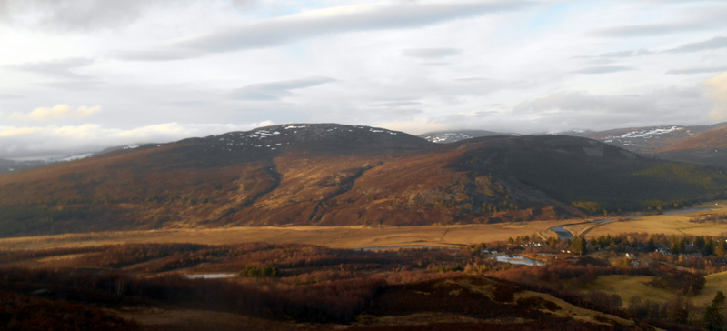 MountainViews.ie Picture about mountain Carn na Drochaide in area Cairngorms, Ireland
