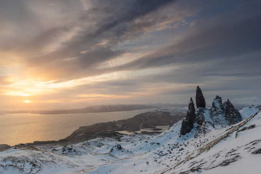 MountainViews.ie Picture about mountain Old Man of Storr in area North Skye and Raasay, Ireland