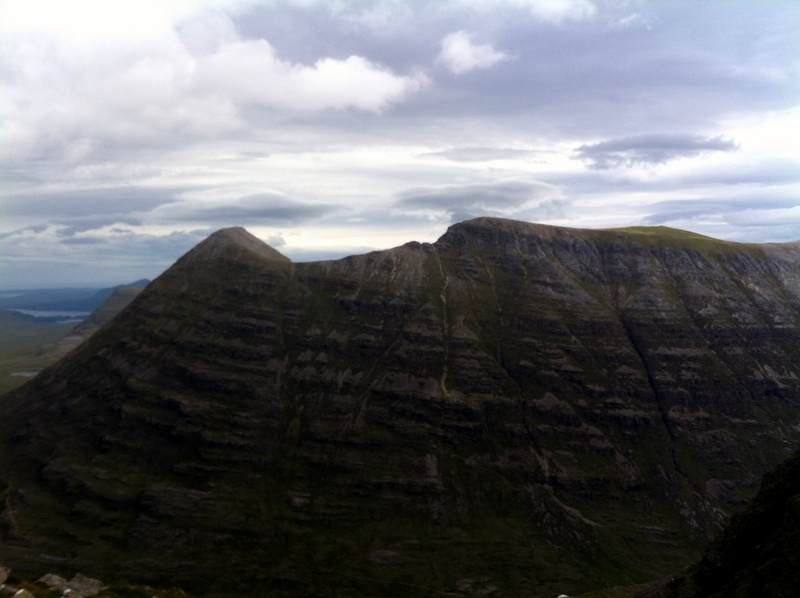 MountainViews.ie Picture about mountain Sail Mhor in area Loch Torridon to Loch Maree, Ireland