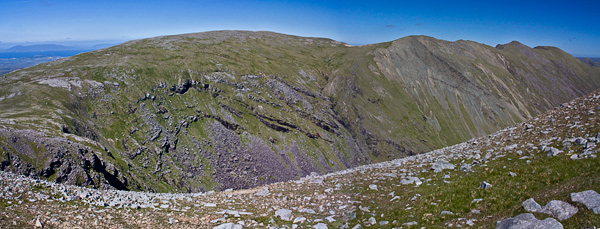 MountainViews.ie Picture about mountain Ben Bury in area Mweelrea Mountains, Ireland