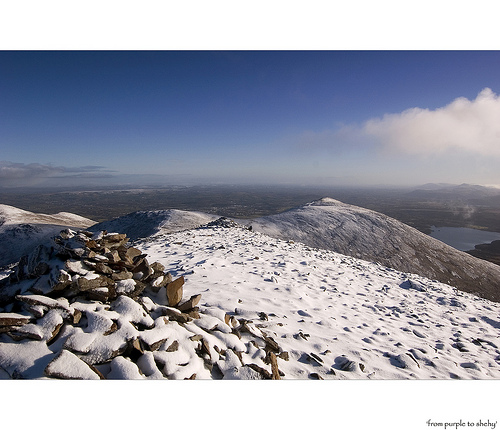 MountainViews.ie Picture about mountain Purple Mountain NE Top in area Purple Mountain, Ireland