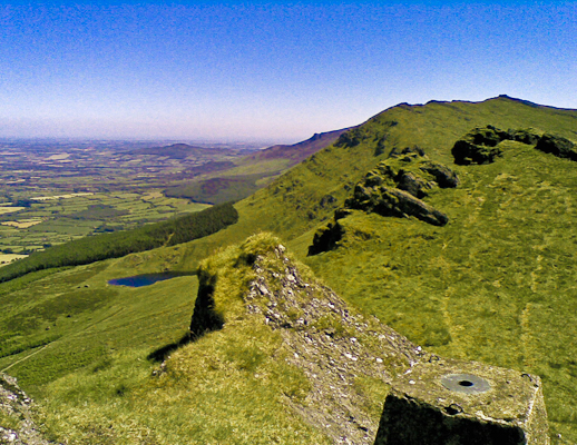 MountainViews.ie Picture about mountain Knocksheegowna in area Comeragh Mountains, Ireland