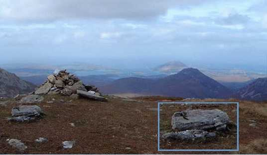 MountainViews.ie Picture about mountain Muckanaght in area Twelve Bens, Ireland