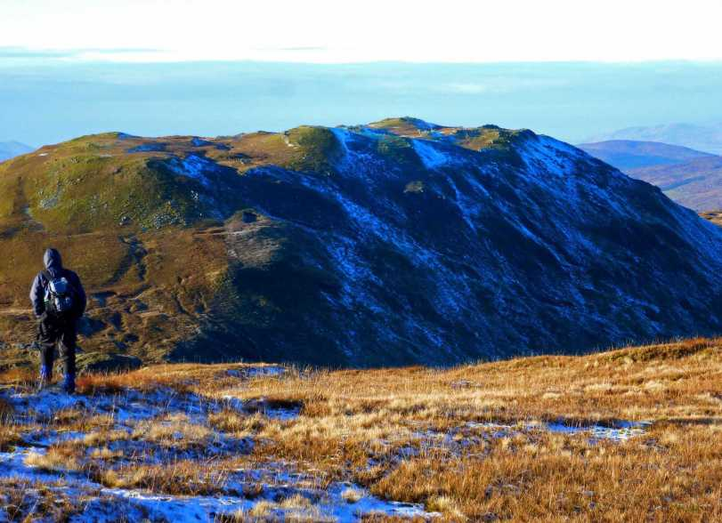 MountainViews.ie Picture about mountain Lavagh Beg in area Bluestack Mountains, Ireland