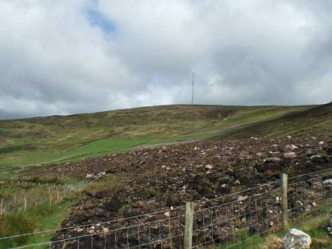 MountainViews.ie Picture about mountain Mullaghanish in area Paps/Derrynasaggart, Ireland