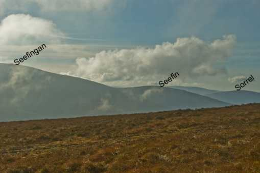 MountainViews.ie Picture about mountain Seahan in area Dublin/Wicklow, Ireland