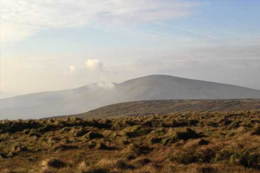 MountainViews.ie Picture about mountain Meenard Mountain in area Sperrin Mountains, Ireland