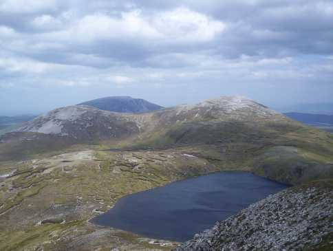 MountainViews.ie Picture about mountain Aghla Beg (South) in area Donegal NW, Ireland