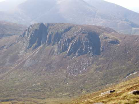 MountainViews.ie Picture about mountain Slieve Beg in area Mourne Mountains, Ireland
