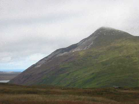MountainViews.ie Picture about mountain Aghla More in area Donegal NW, Ireland