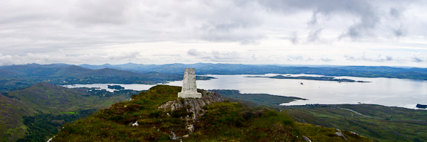 MountainViews.ie Picture about mountain Sugarloaf Mountain in area Caha Mountains, Ireland