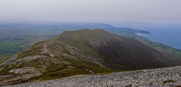 MountainViews.ie Picture about mountain Ben Goram in area Croagh Patrick, Ireland