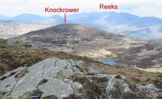 MountainViews.ie Picture about mountain Knockrower in area Mangerton, Ireland