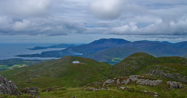 MountainViews.ie Picture about mountain Nareera in area Caha Mountains, Ireland