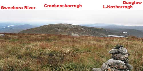 MountainViews.ie Picture about mountain Crockfadda in area Donegal NW, Ireland
