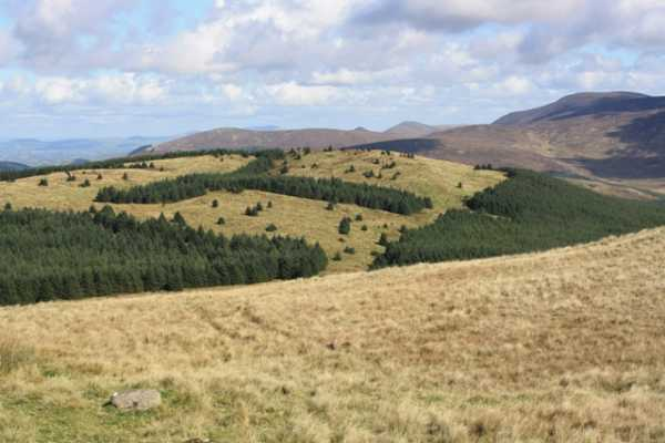 MountainViews.ie Picture about mountain Crenville in area Mourne Mountains, Ireland