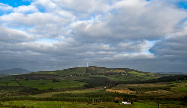 MountainViews.ie Picture about mountain Knockastanna in area Shannon, Ireland