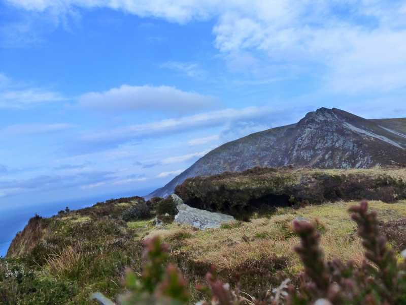 MountainViews.ie Picture about mountain Cnoc Ramhar in area Donegal SW, Ireland