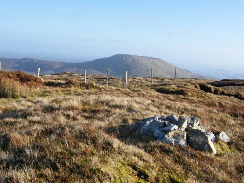 MountainViews.ie Picture about mountain Bothán in area Partry/Joyce Country, Ireland