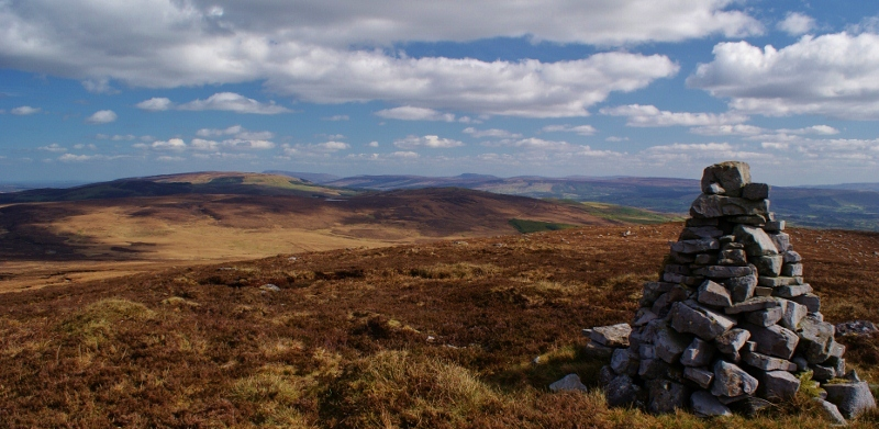MountainViews.ie Picture about mountain Agow Top in area Dartry Mountains, Ireland