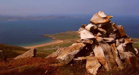 MountainViews.ie Picture about mountain Mamore Hill in area Inishowen, Ireland