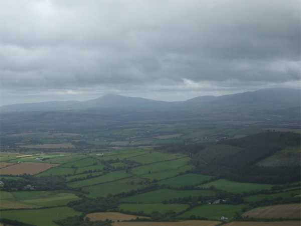 MountainViews.ie Picture about mountain Slieveboy in area North Wexford, Ireland
