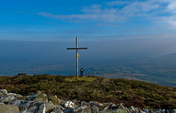 MountainViews.ie Picture about mountain Mount Hillary in area Boggeragh Mountains, Ireland