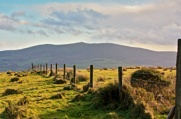 MountainViews.ie Picture about mountain Preban Hill in area Dublin/Wicklow, Ireland