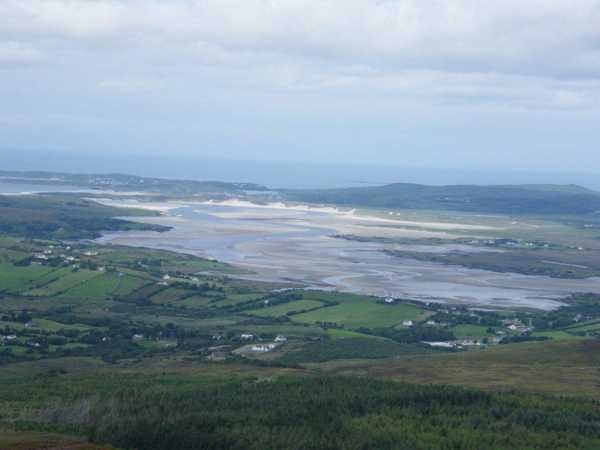 MountainViews.ie Picture about mountain Mulmosog Mountain in area Donegal SW, Ireland