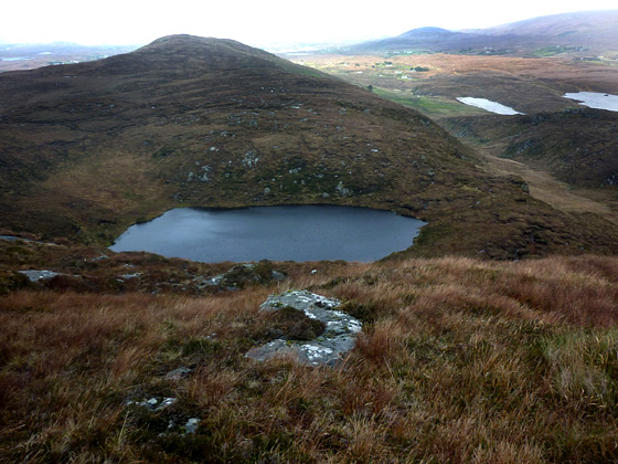 MountainViews.ie Picture about mountain Cró Bheithe in area Donegal NW, Ireland
